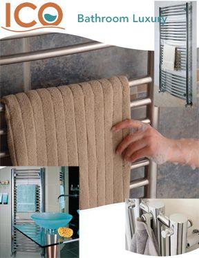 ICO Heated Towel Bars