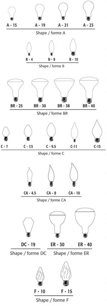 Lamp Shapes
