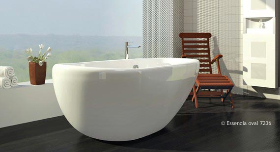 Bainultra Essencia Oval Air Jet Bath
