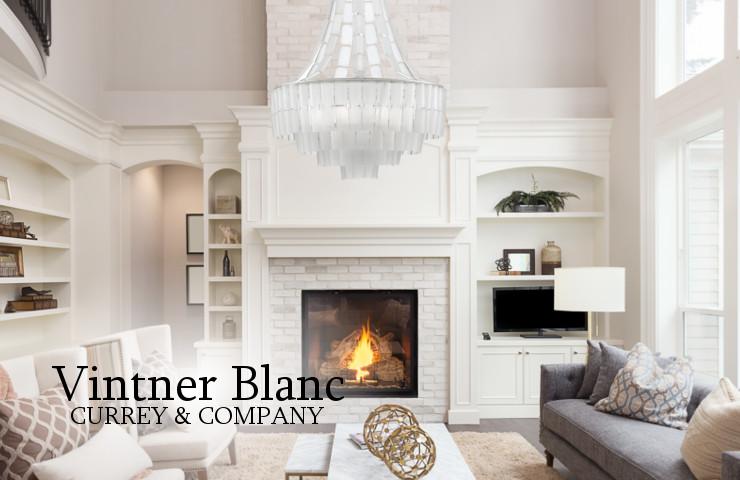 9000-0159 VINTNER BLANC CHANDELIER