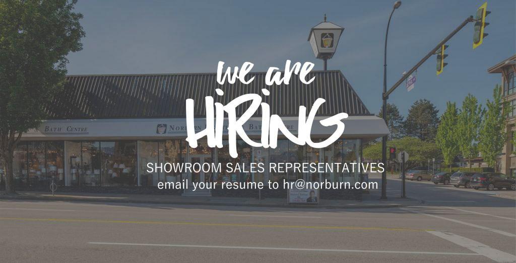 NOW HIRING – Showroom Sales Representatives