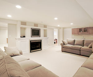Norburn Lighting and Bath, family-room