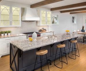 Norburn Lighting and bathe kitchen