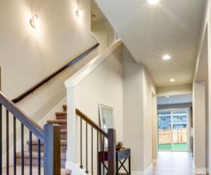 Norburn Lighting and Bath, hallway