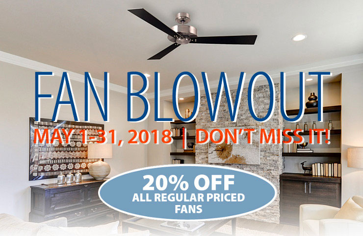 FAN BLOWOUT SALE!
