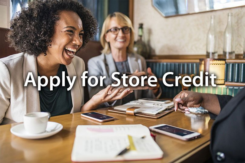 Norburn Lighting and Bath, apply-for-store-credit-box