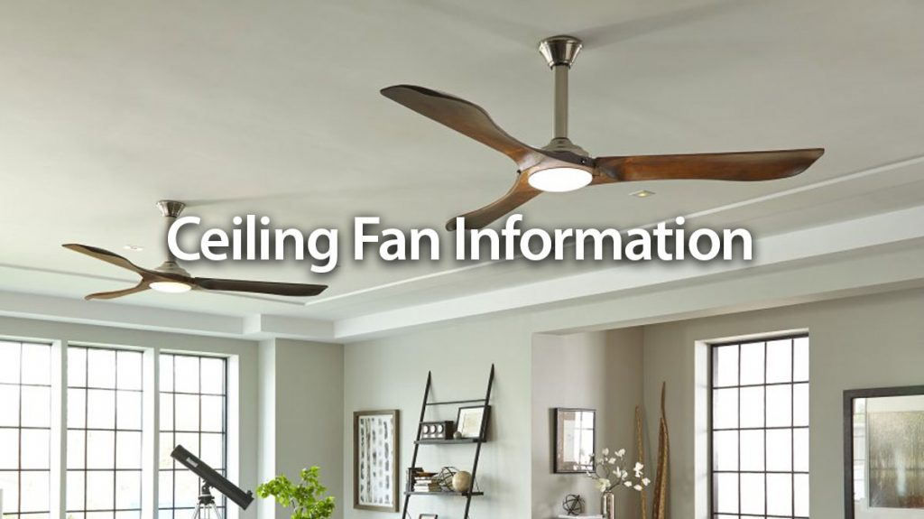 Norburn Lighting and Bath, ceiling-fan-info