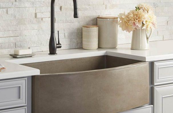 Farmhouse-Quartet-Concrete-Kitchen-Sink-Earth-NSK3320-E