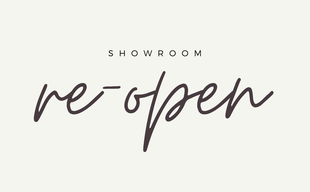 COVID-19 Update – Showroom Re-Open May 4