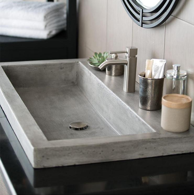Trough 3619 Bathroom Sink in (4020KM6)